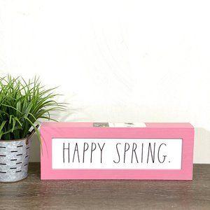 Rae Dunn Happy Spring Sign